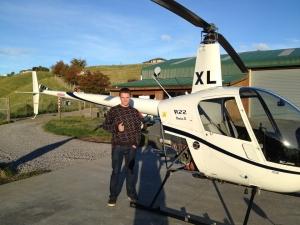 Kieran Carter passing his PPL flight test