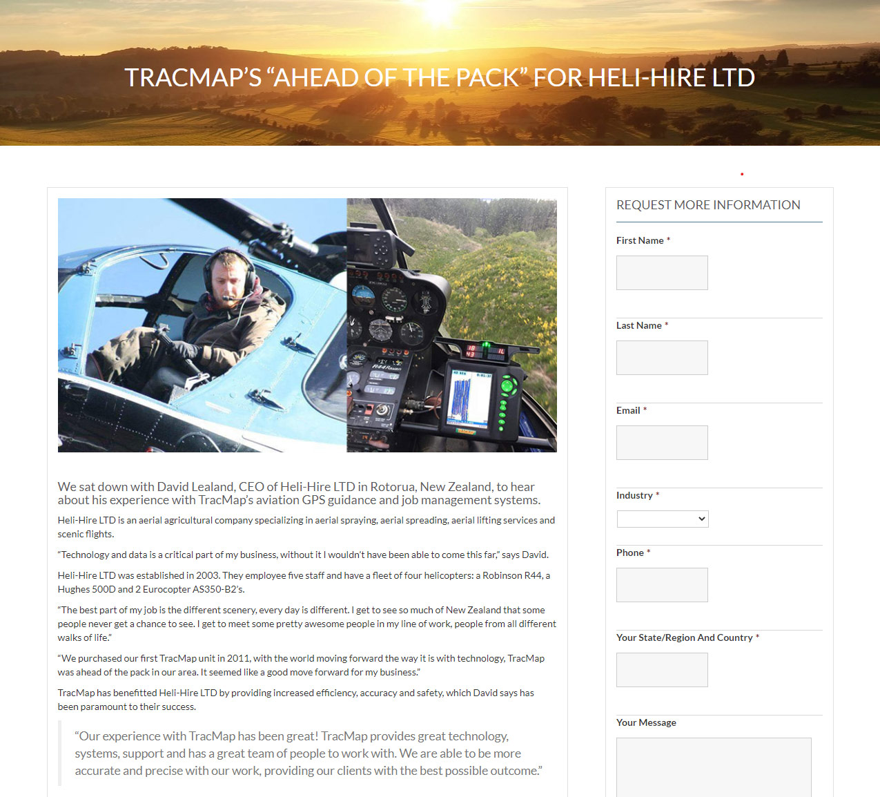 As featured in - TracMap